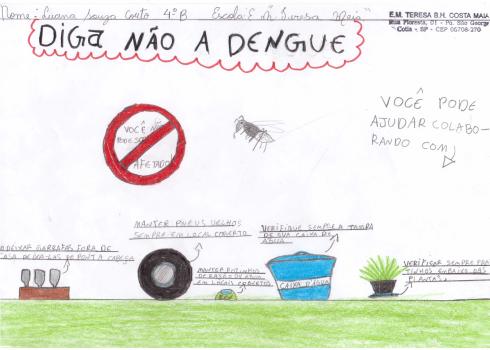 desenho 3 dengue