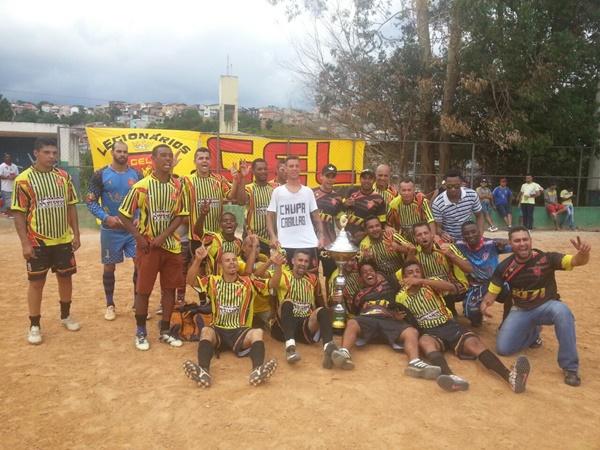 Legionários,campeão da Copa Travesso