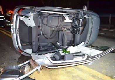 Acidente deixa seis feridos na Raposo Tavares