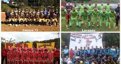 Quatro times comemoram o acesso para a 1ª Divisão do futebol cotiano