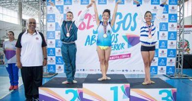 Cotia fatura medalha na ginástica rítmica nos Jogos Abertos do Interior