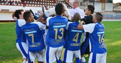 Há seis anos o Cotia FC celebrava o acesso no Campeonato Paulista