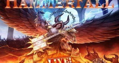 Hammerfall: disco ao vivo será lançado em outubro