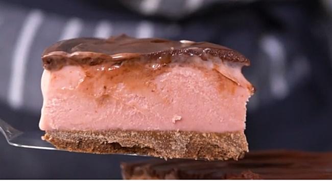 Receita: Torta gelada sensação