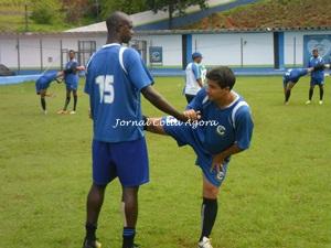 Clodoaldo e Rogerinho, experiência do elenco