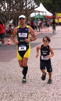 A partir de agora Lancia incentivará o filho para a prática de esporte