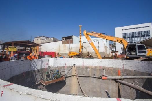 Governador inicia escavações da Linha 6 do metrô
