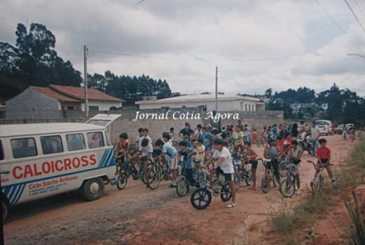 Mais um ponto no Sabiá, sempre com a kombi do Ciclo Santo Antônio