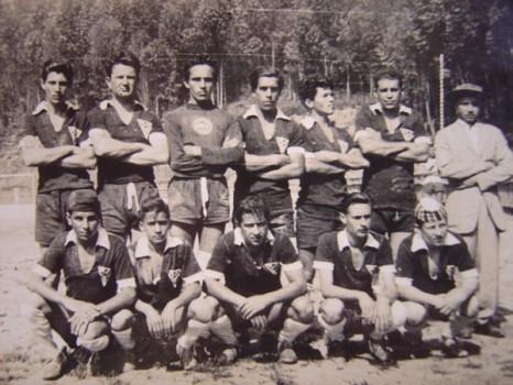 Time da empresa Genovesi, o goleirão aí é o Dito Pinto, nos anos 50.