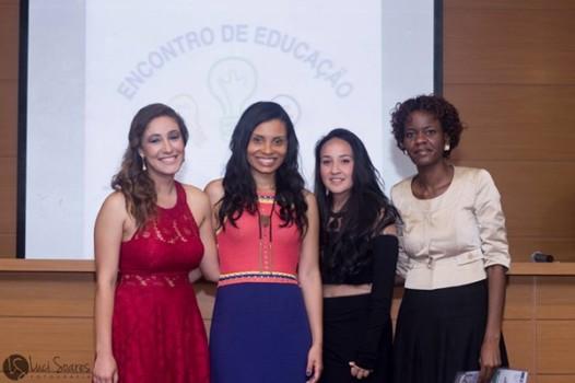 Equipe da agência Layla: Camilla Lima, Layla Marques, Letícia Pereira e Clarice Tatyer