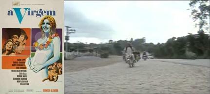 Poster e cena de A Virgem no Km 30