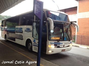 Ônibus para Piedade partiu com dois passageiros