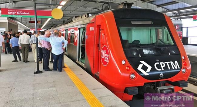 Obras alteram circulação dos trens da CPTM neste fim de semana