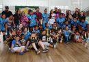 Time feminino do Projeto Eduka Fut é bicampeão da 2ª Copa Embu de futsal
